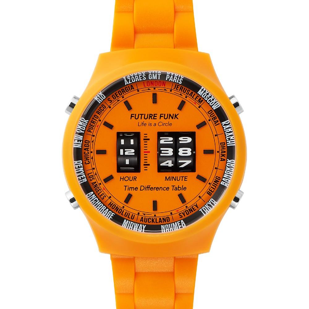 Future Funk|創造者芥末黃,日本直立迴轉式石英錶