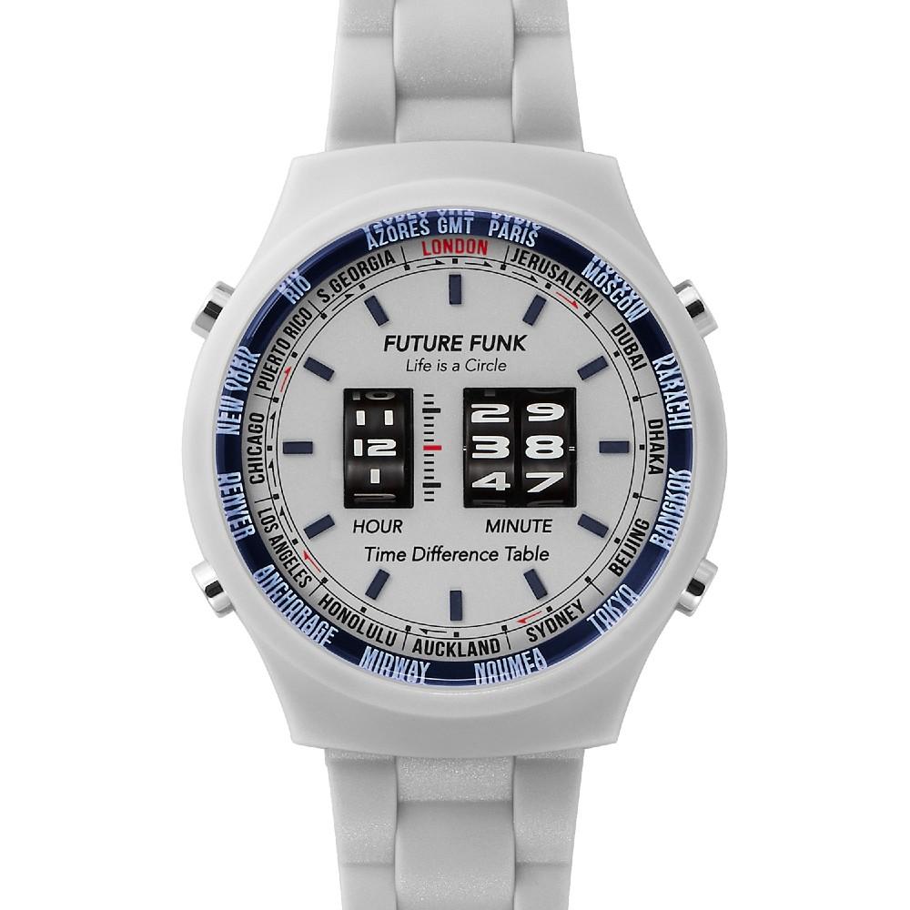Future Funk 創造者石英灰,日本直立迴轉式石英錶