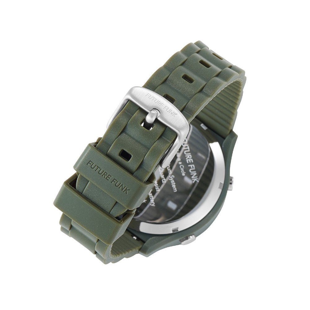Future Funk|創造者,橄欖綠,日本直立迴轉式石英錶