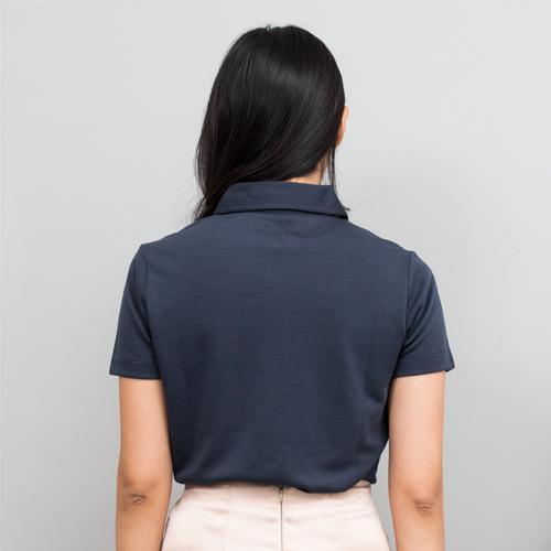 O5 PRO|奇異POLO-女版/翻領 (西裝藍)