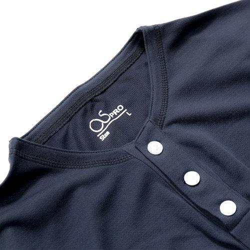 O5 PRO|奇異T-男版/亨利領 (西裝藍)