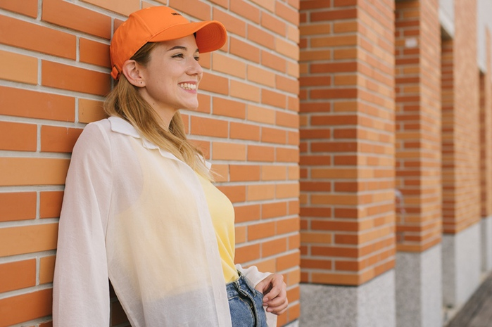 (複製)O5 PRO|奇異長效涼感T-女版/拉格蘭袖 (白身黃袖)