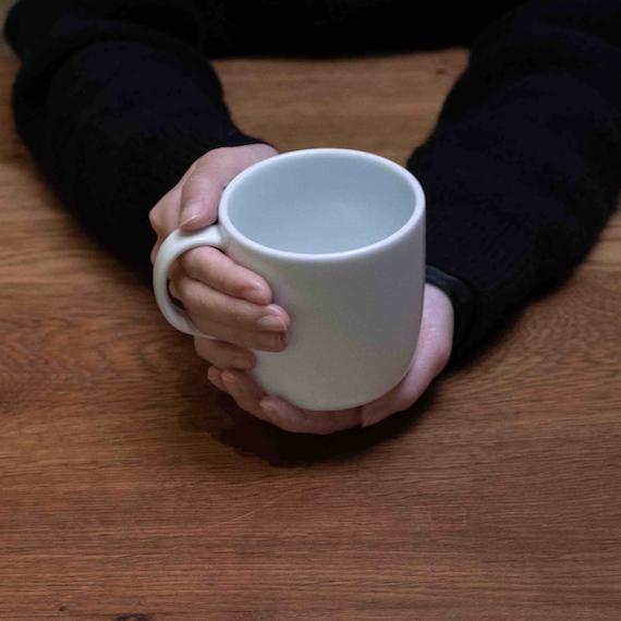 TG|白瓷馬克杯 -430ml