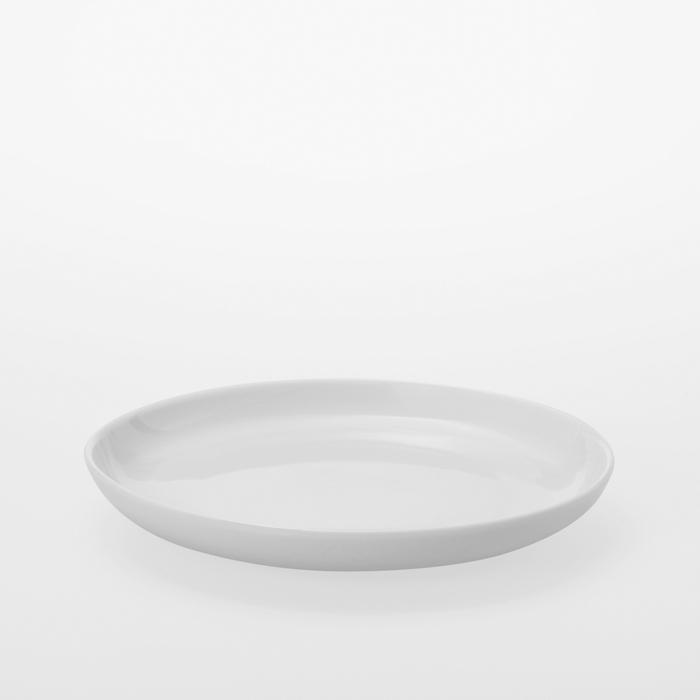 TG|白瓷圓盤 -173mm