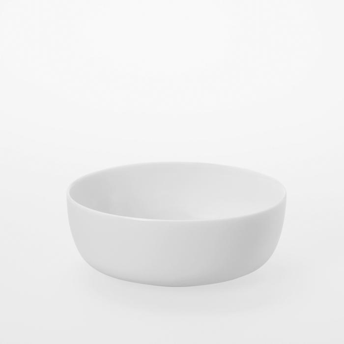 TG|白瓷圓形碗 -640 ml
