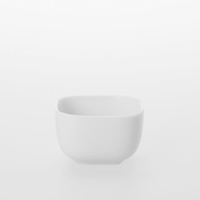 TG 白瓷方形小皿 -88ml