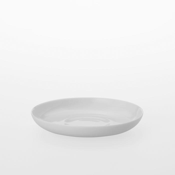 TG 白瓷咖啡杯盤 -131 mm