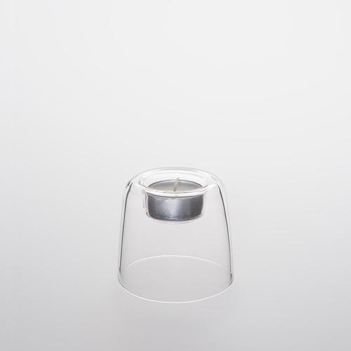 TG|耐熱玻璃蠟燭台-70mm