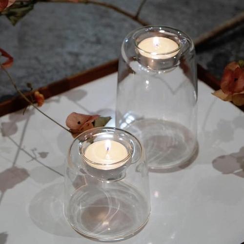 TG|耐熱玻璃蠟燭台-120mm