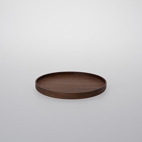 TG 台灣相思木圓形托盤-198mm