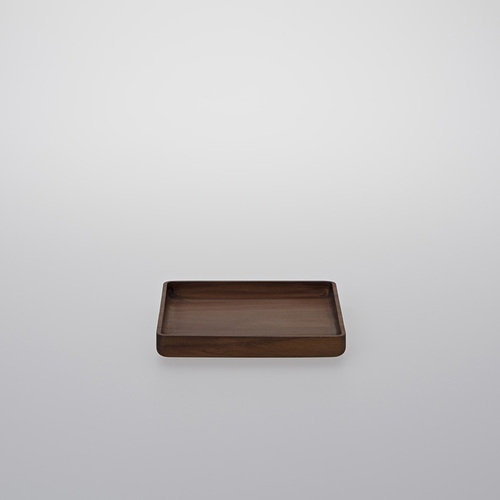 TG 台灣相思木方形托盤-140mm