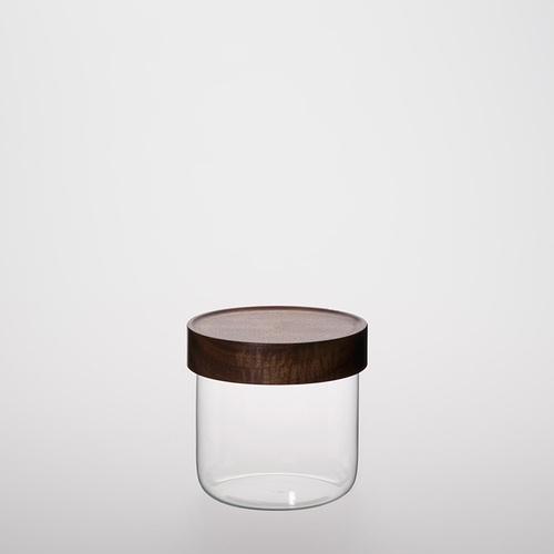 TG 台灣相思木玻璃儲物罐-600ml