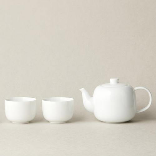 TG|白瓷茶壺品茗杯組