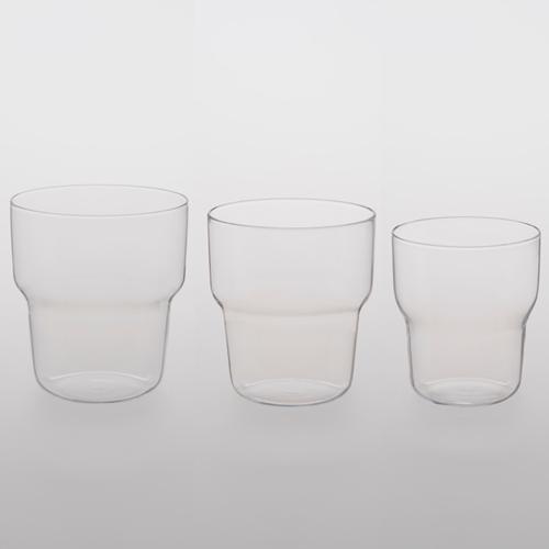 TG|耐熱玻璃水杯-三件一組