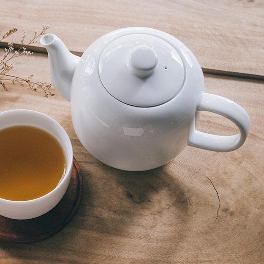 TG|白瓷茶壺-520ml