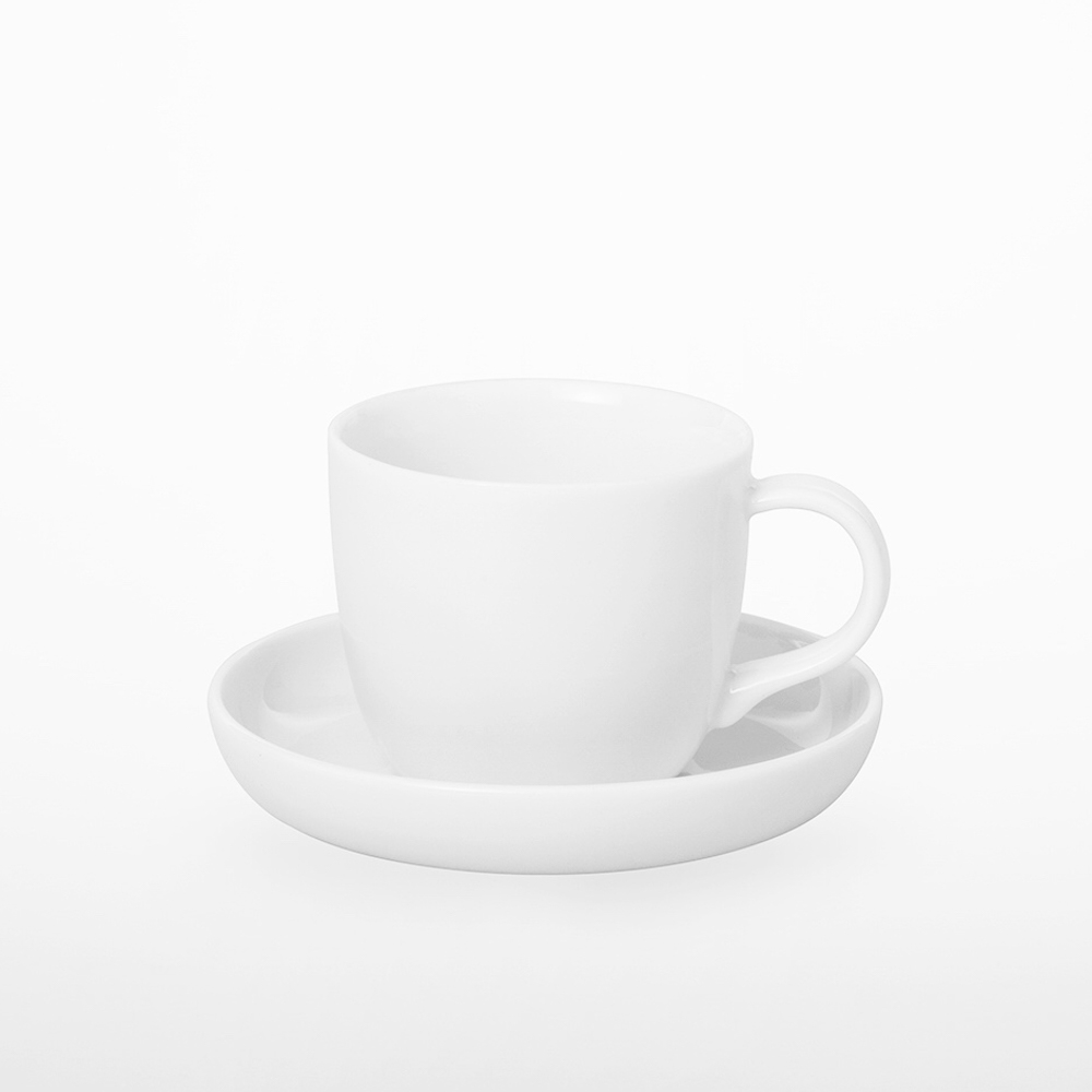 TG|白瓷義式濃縮杯盤組-90ml
