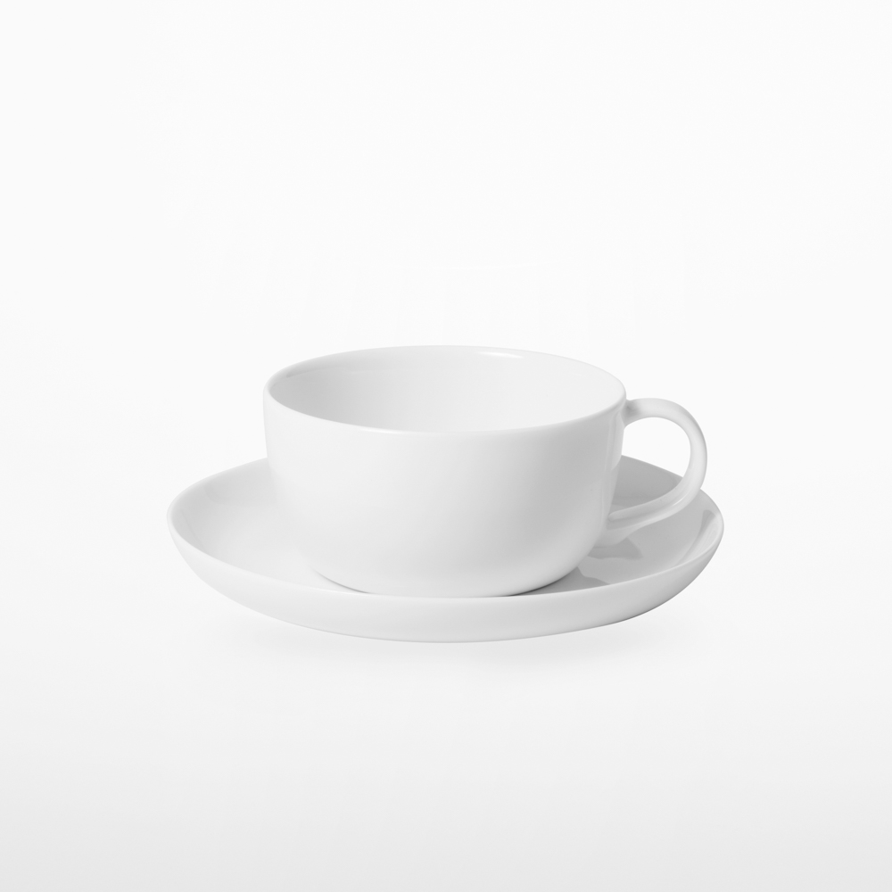 TG|白瓷紅茶杯盤組 - 290ml