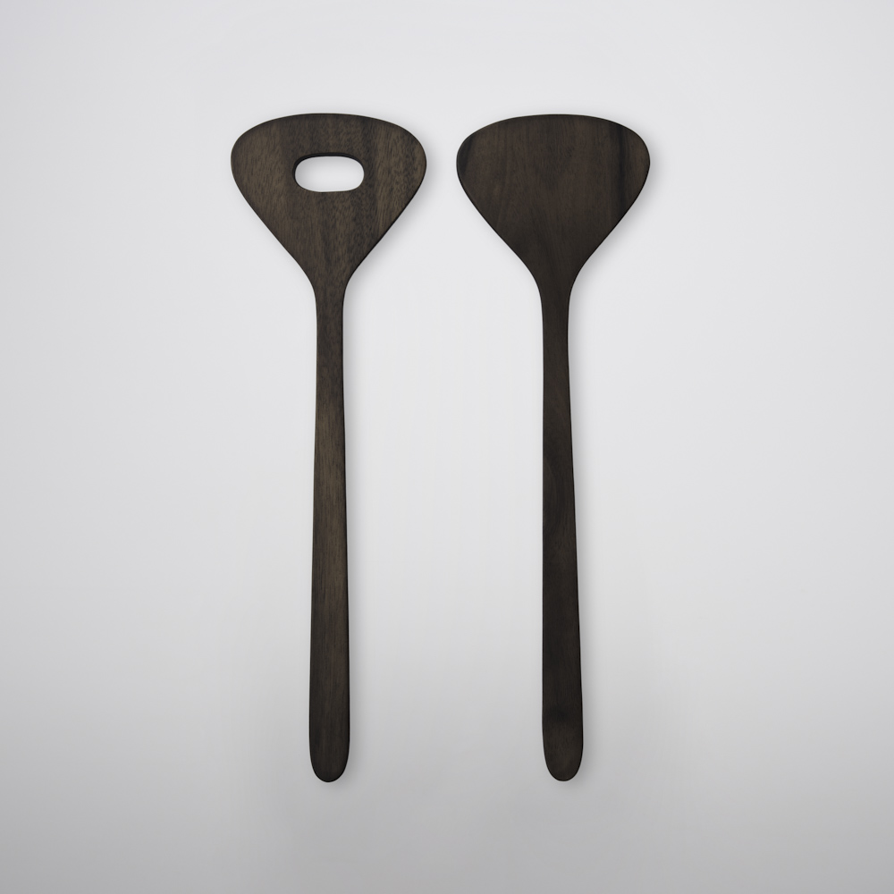TG|台灣相思木分菜匙 - 250mm