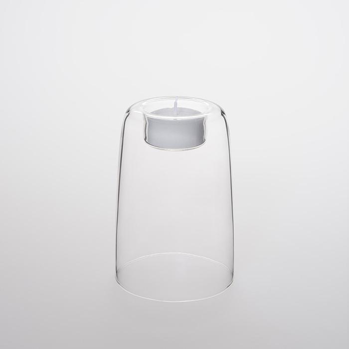 (複製)TG|耐熱玻璃燭台-70mm