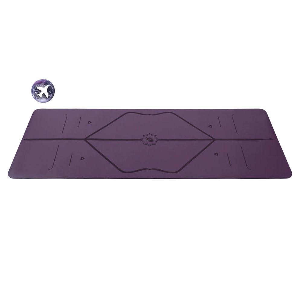 Liforme   紫地球慈善限定版瑜珈墊 (輕便款)