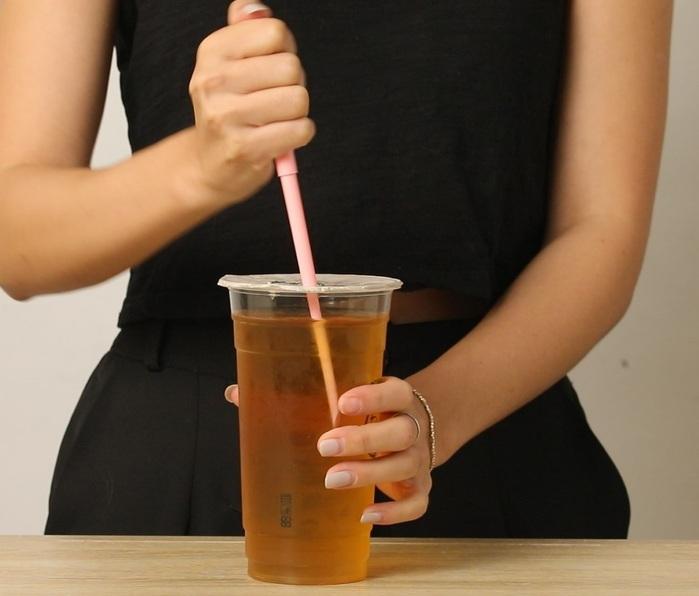 S+|S+Straw 環保重覆伸縮吸管(玫瑰粉)