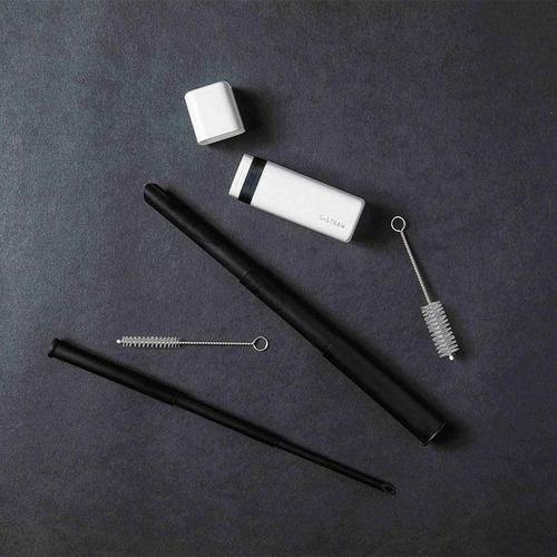 S+|S+Straw 環保重覆伸縮吸管(流星黑)