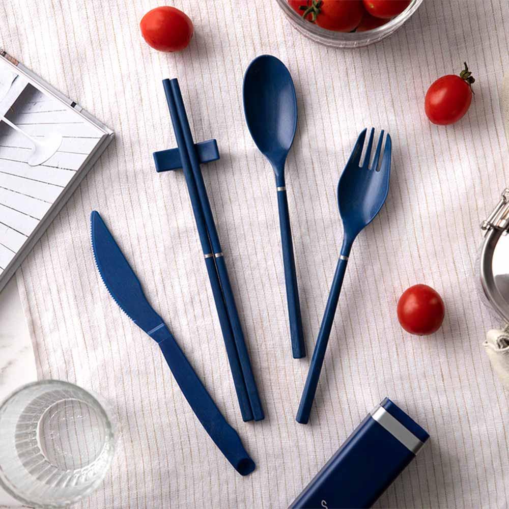 S+| S+Cutlery 環保歐應餐具 (深海藍)