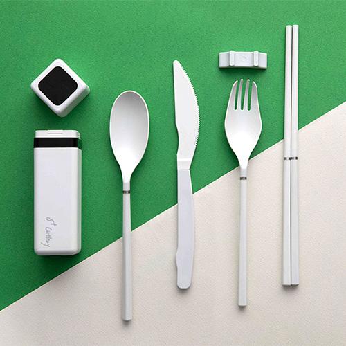 S+| S+Cutlery 環保歐應餐具 (雲霧白)