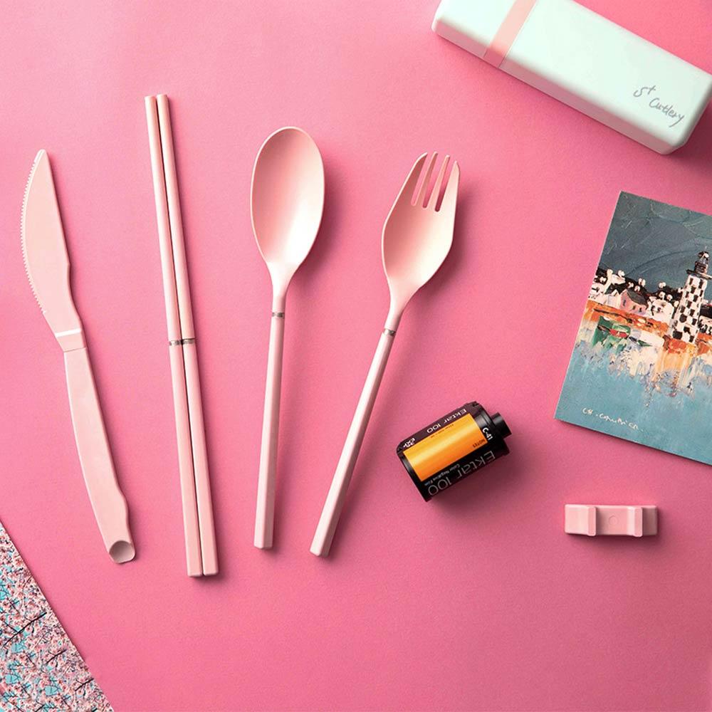 S+| S+Cutlery 環保歐應餐具 (山櫻粉)