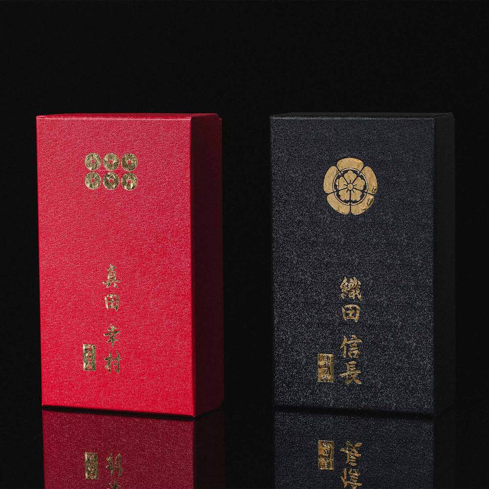 NIKKEN|日本戰國名將精品武士剪刀(兩款任選)