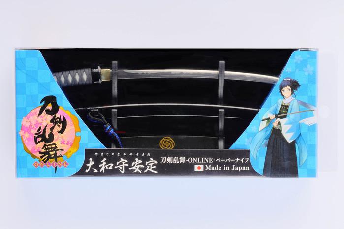 NIKKEN|刀劍亂舞-ONLINE-名將武士拆信刀-三款任選 (日本製)