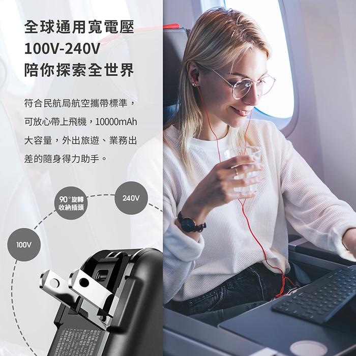 (複製)LaPO|台灣製造 TYPE-C雙向極速快充行動電源 WT-100P