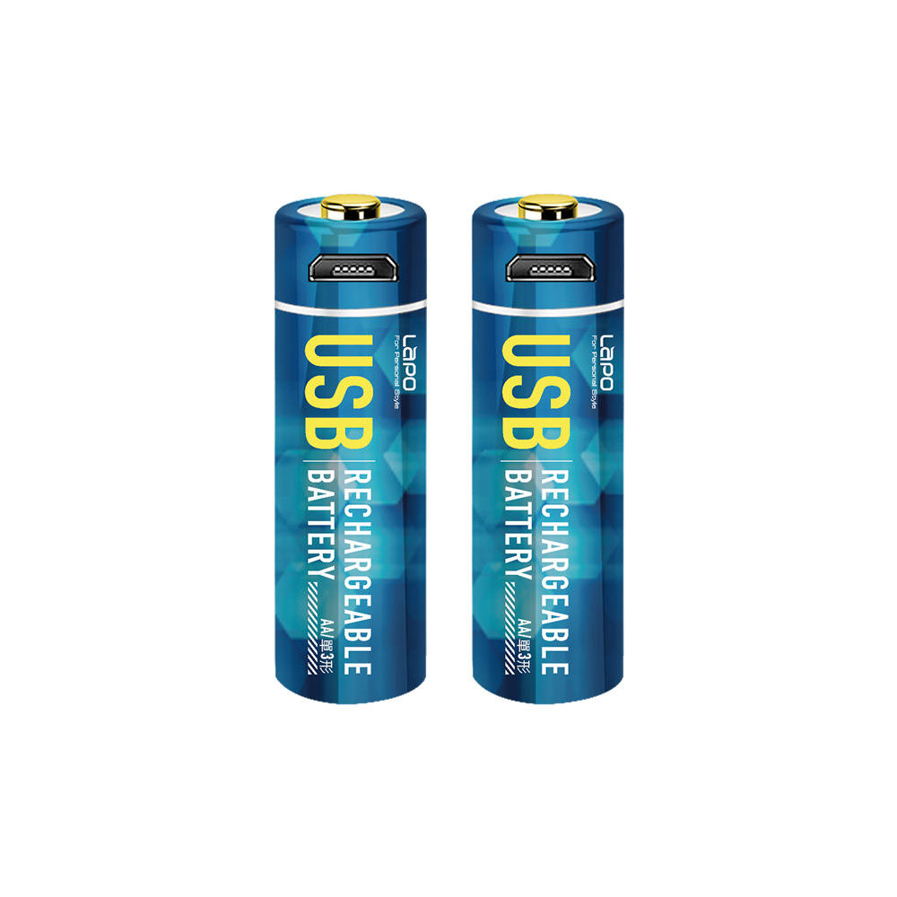 LaPO|可充式鋰離子電池組 WT-AA01 3號AA電池