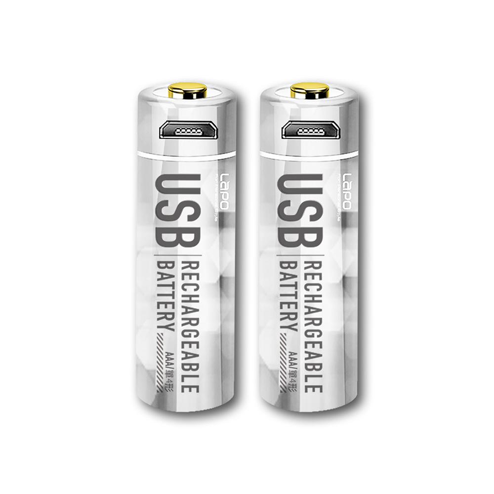 LaPO|可充式鋰離子電池組 WT-AAA01 4號AAA電池