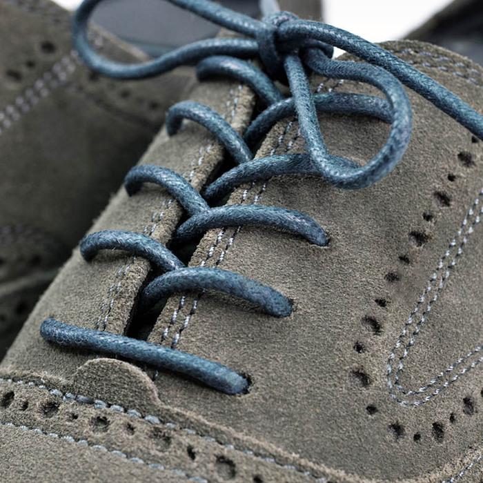 Aholic|紳士上蠟抗污皮鞋鞋帶 - 7入組