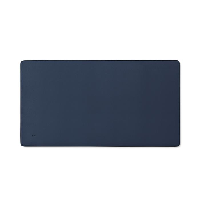 Aholic 皮革桌墊 - 深藍