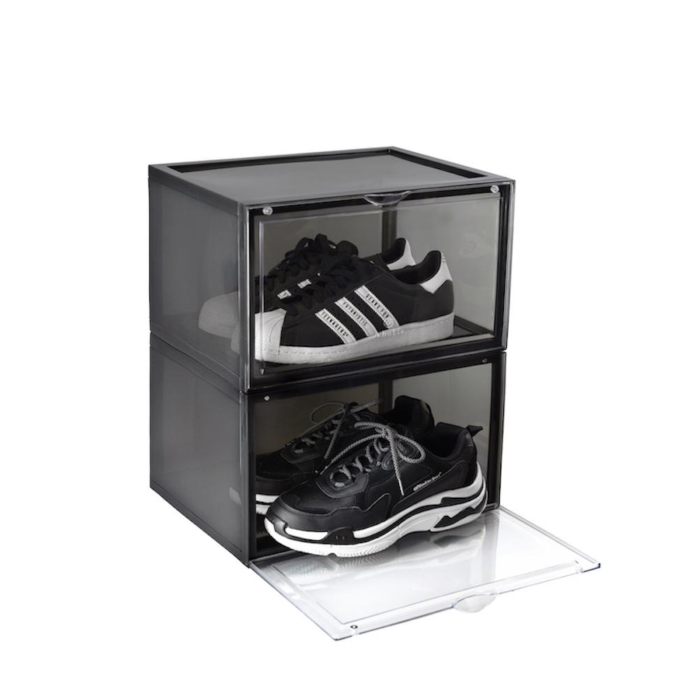Aholic 側開球鞋磁吸收納盒(6入)