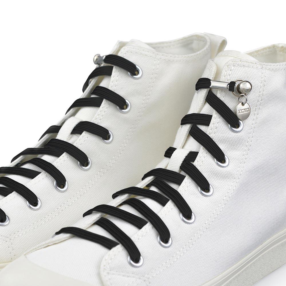 Aholic|單手鞋帶 (黑)