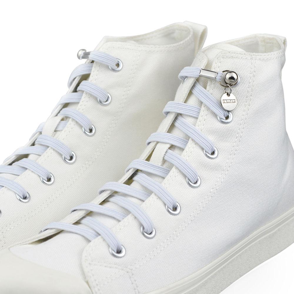Aholic|單手鞋帶 (白)