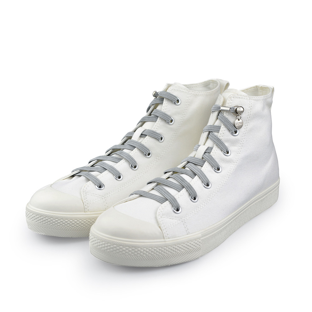 Aholic|單手鞋帶 (淺灰)
