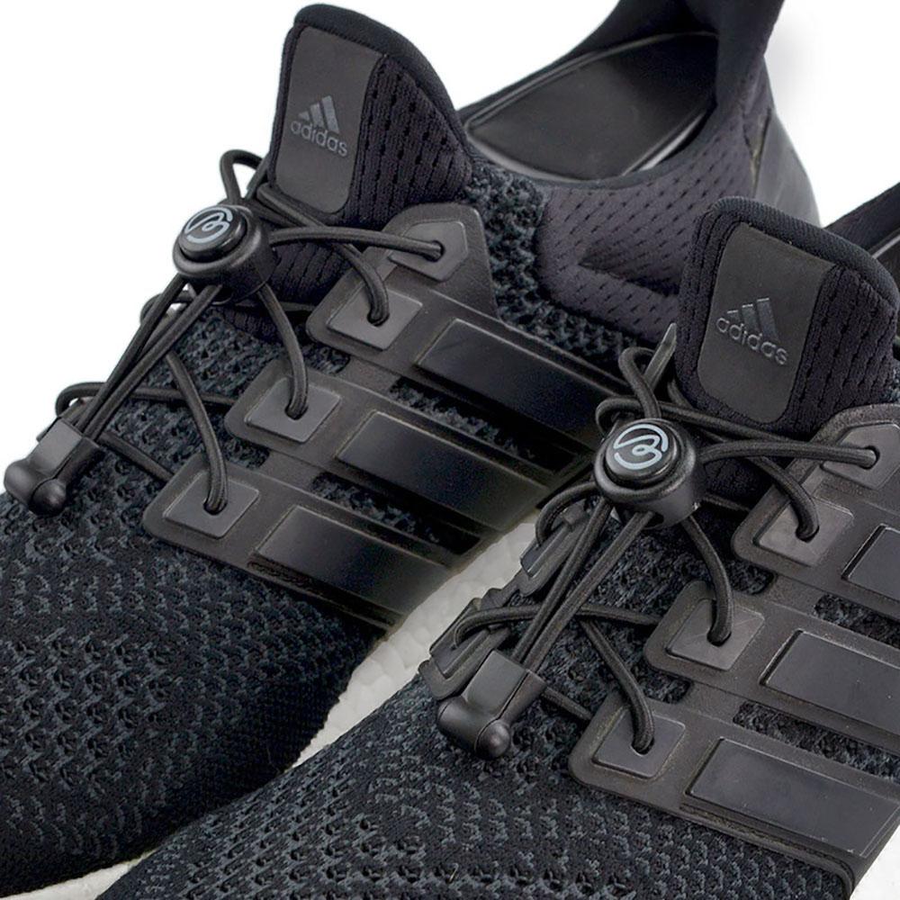 Aholic|壓釦免綁鞋帶 (黑)