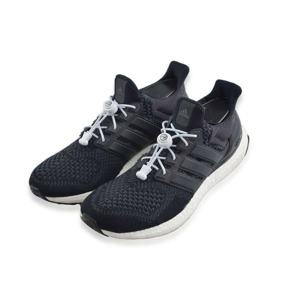 Aholic|壓釦免綁鞋帶 (白)