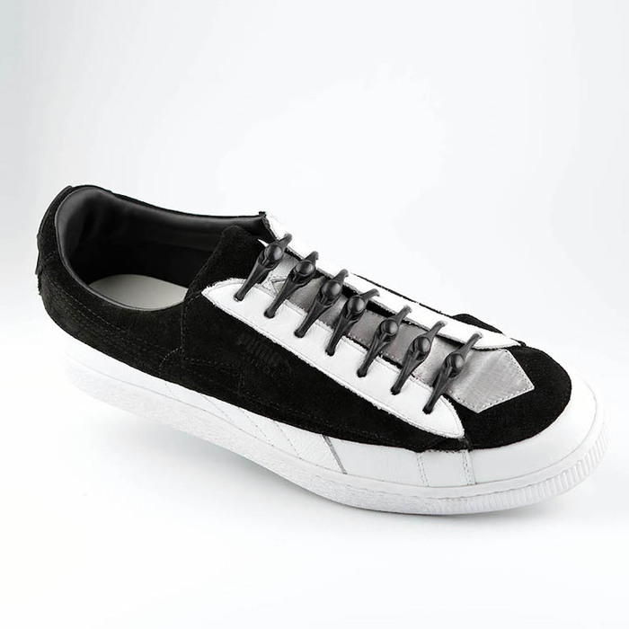 Aholic|彈力免綁鞋帶扣 (黑)