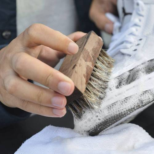 Aholic 旅用鞋類清潔保養組 - 附頂級馬毛鞋面刷
