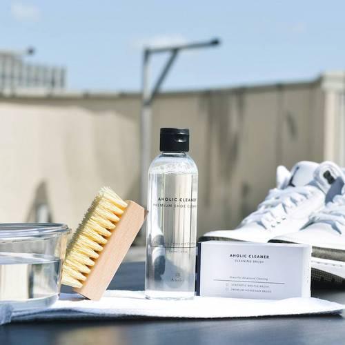 Aholic|旅用鞋類清潔保養組 -  附標準鬃毛刷