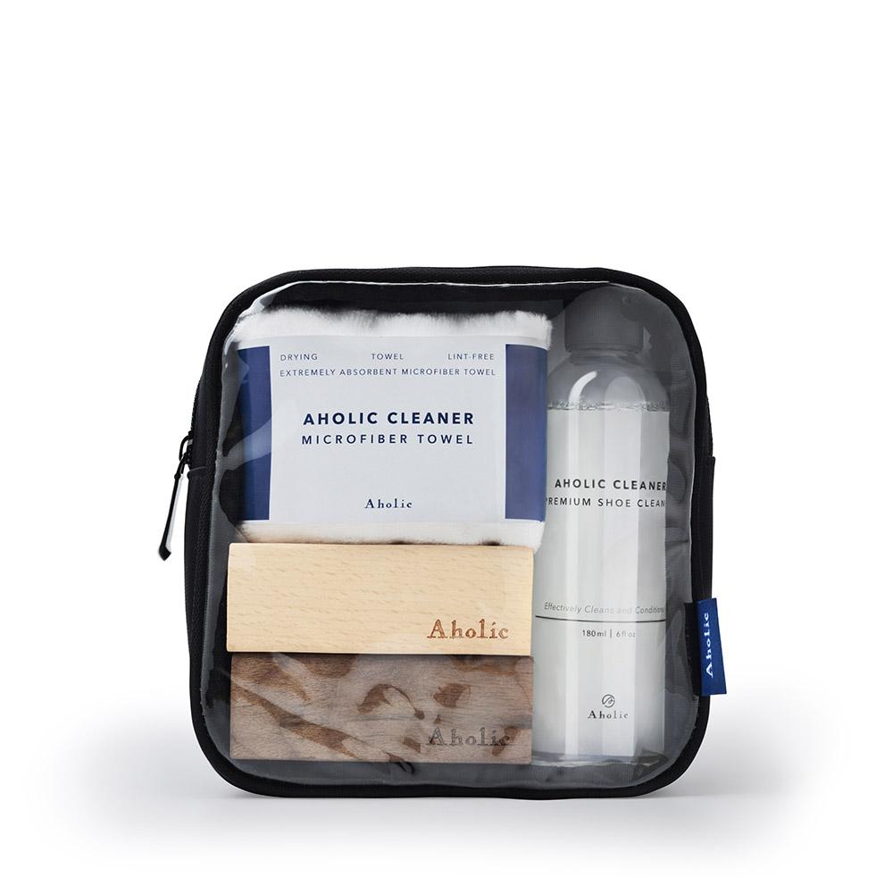 Aholic 旅用鞋類清潔保養組 - 全裝組
