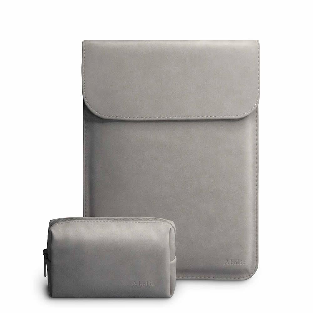 Aholic 信封式磁吸筆電保護套 + 質感小物收納包優惠組 - 15/16吋