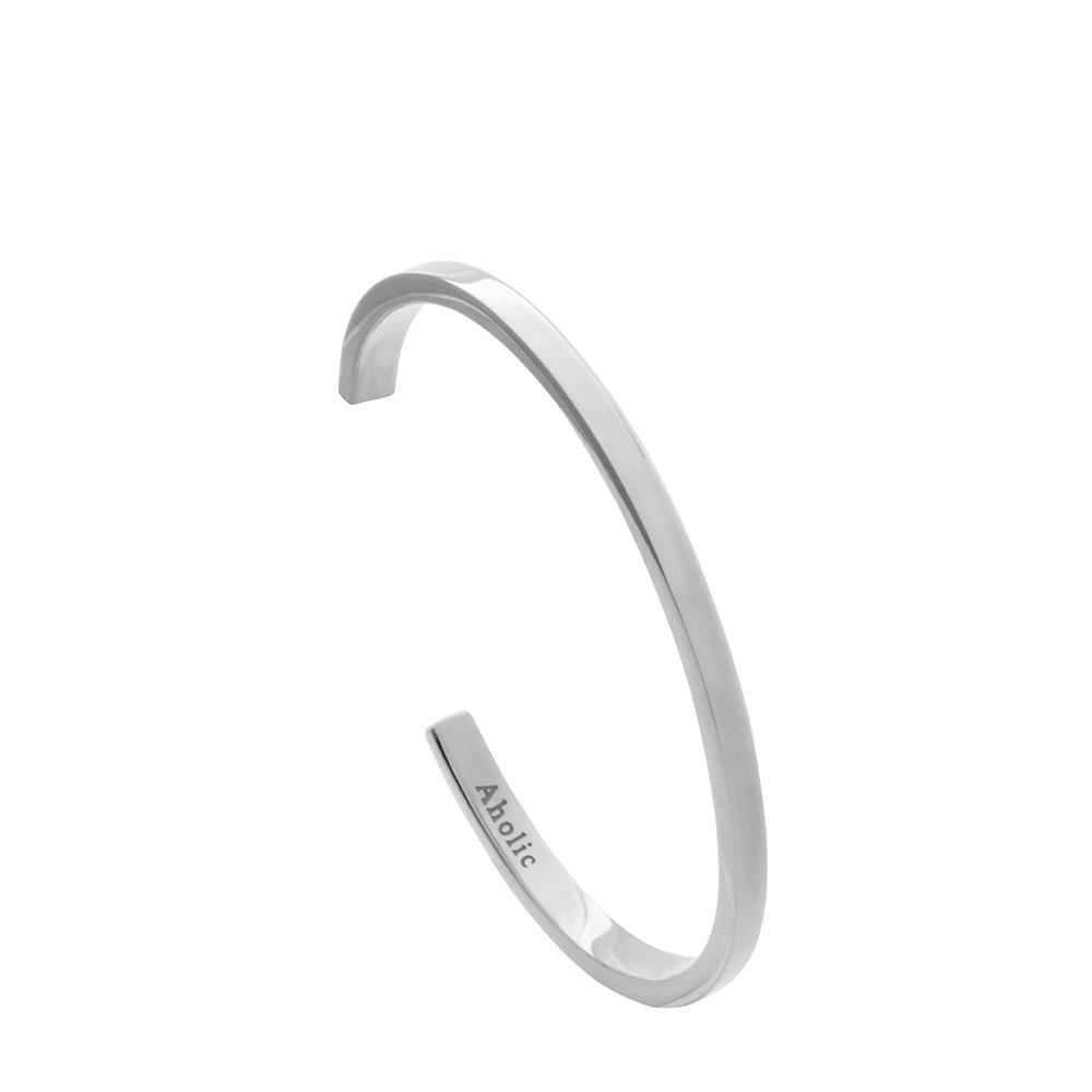 Aholic|CUFF 女款經典手環 (原鋼色)
