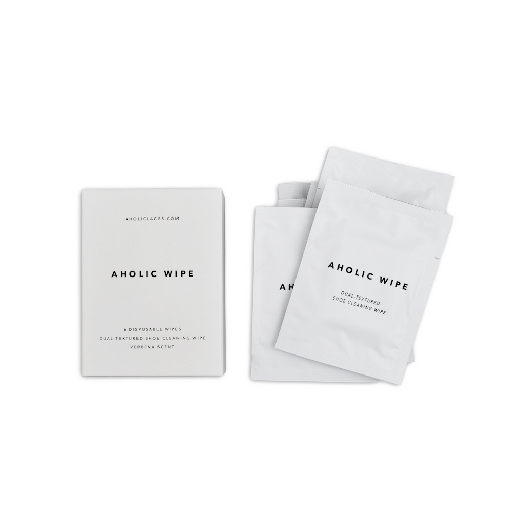 Aholic|鞋類清潔濕紙巾 - 6片裝