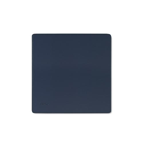 Aholic|皮革滑鼠墊 (深藍)
